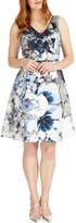 Studio 8 Antonia Abstract Floral Print Dress, Multi