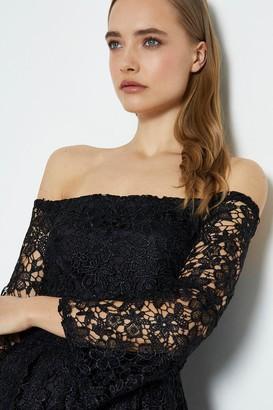 Coast Off The Shoulder Lace Midi Dress