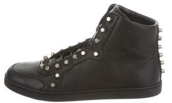 Gucci Studded Leather Sneakers w/ Tags