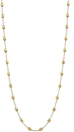 Marco Bicego 18K Gold Siviglia Small Bead Necklace, 39""