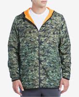2xist Men's Camo-Print Loungewear Hooded Jacket