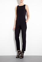 DKNY Stretch Wool Sleeveless Jumpsuit