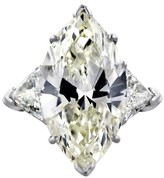 Platinum 10 ct. Marquise Cut Diamond Engagement Ring