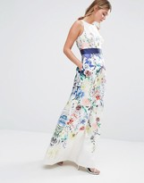 Coast Penny Floral Print Maxi Dress