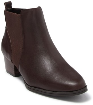 Aerosoles Criss Cross Leather Chelsea Bootie
