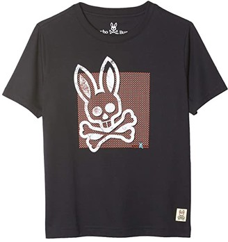 Psycho Bunny Kids Ringwood Graphic Tee (Toddler/Little Kids/Big Kids) (Navy) Boy's Clothing
