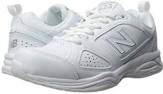 New Balance WX623v3 (White/Silver) Women's Shoes