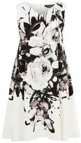 Marina Rinaldi Sleeveless Floral Dress