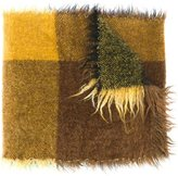 Faliero Sarti woven check scarf