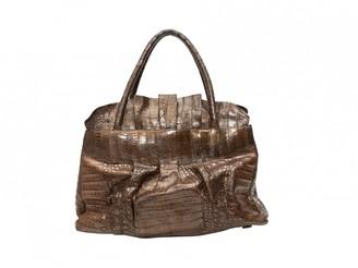 Nancy Gonzalez Brown Leather Handbags