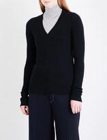 Joseph V-neck wool