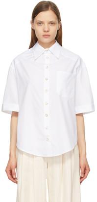ANNA QUAN White Austin Short Sleeve Shirt