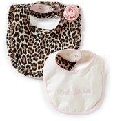 Kate Spade Baby Girls Leopard-Print Bib