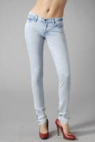 Super Skinny Zip Jeans in Uzi Blue Vein