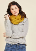 ModCloth Yellow Brick Cold Scarf