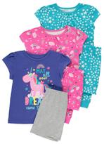 George 3 Pack Assorted Pyjamas