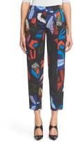 Armani Collezioni Women's Abstract Print Crop Pants