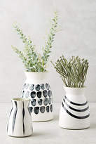 Anthropologie Kupia Handpainted Vase Set