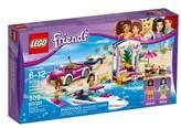 Lego Infant Girl's Friends Andrea's Speedboat Transporter - 41316