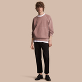 Burberry Unisex Pigment-dyed Cotton Oversize Sweatshirt