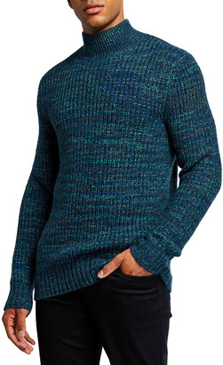 Vince Men's Space-Dyed Turtleneck Sweater