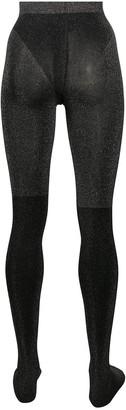 Wolford Selene metallic glittery tights