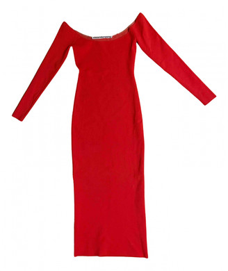Alexander Wang Red Polyester Dresses