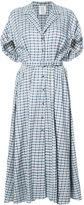 Rosie Assoulin plaid collared dress