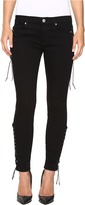 Hudson Suki Mid-Rise Ankle Super Skinny in Black