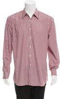 Prada Striped Button-Up Shirt