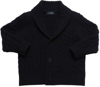 Il Gufo Virgin Wool Knit Cardigan