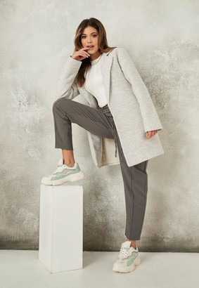 Missguided Textured Formal Coat