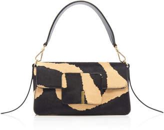 Wandler Georgia Zebra-Print Leather Bag