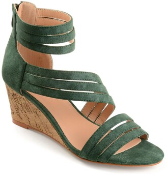 Journee Collection Loki Wedge Sandal