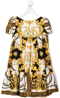 Versace Baroque Print Dress