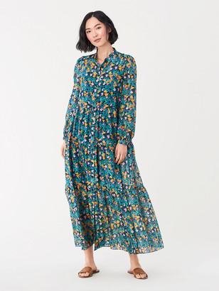 Diane von Furstenberg Nea Voile Maxi Dress
