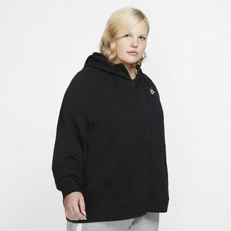 Nike Women's Full-Zip Hoodie Sportswear Essential (Plus Size)