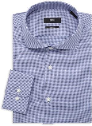 HUGO BOSS Mark Dotted Dress Shirt