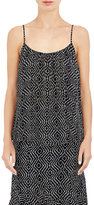 L'Agence Women's Georgette Baily Tank-BLACK, IVORY, NO COLOR