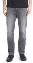 Fidelity 'Jimmy' Slim Straight Leg Jeans (Ice Vintage)