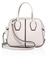Tod's Miky Mini Leather Bauletto Bag