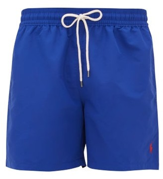 Polo Ralph Lauren Logo-embroidered Swim Shorts - Blue
