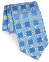 John W. Nordstrom Perez Floral Medallion Silk Tie