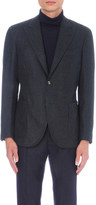 Boglioli Relaxed-fit wool and silk-blend jacket