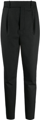 Saint Laurent Slim Fit Pinstripe Trousers
