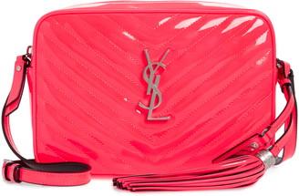 Saint Laurent Lou Matelasse Leather Crossbody Bag