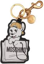 Moschino Leather Keyring