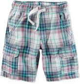 Carter's Plaid Cotton Shorts, Toddler Boys (2T-4T)