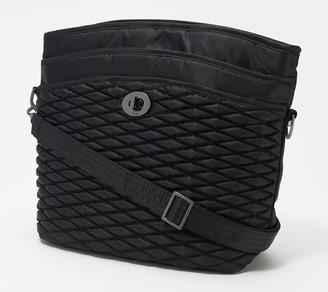 Lug Bubble Quilted Shoulder Bag - Adagio