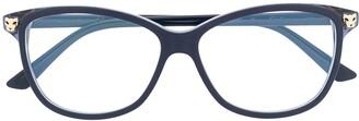 Cartier Square Frame Optical Glasses